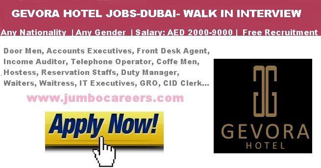Star Hotel Jobs In Dubai 2018 Latest Walk In Interview For Hotel