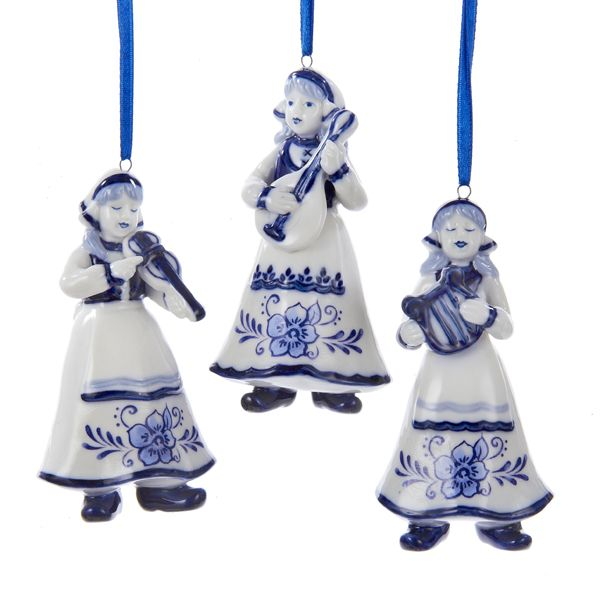 Delft Blue Christmas Ornaments Part - 16: Blue Christmas Tree Ornaments Are A Popular Choice For Christmas  Decorating. Imagine Pretty Blue Christmas Tree Ornaments On Your Christmas  Tree This Year.