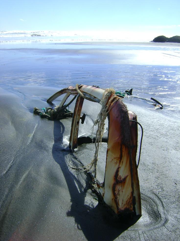 Kariotahi Beach, Waiuku - Cool pic of my hometown surf beach