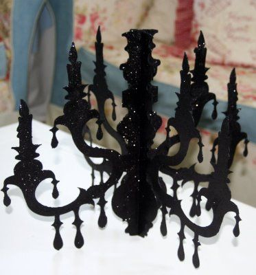 Need to find an old light fixture at a garage sale to paint black