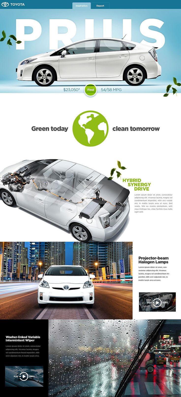 toyota prius pitch by shapelayer