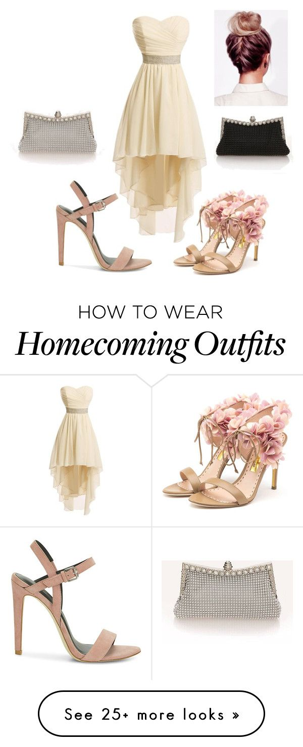 """Prom options."" by crazygirlandproud on Polyvore featuring Rebecca Minkoff, Rupert Sanderson, Prom, PROMNIGHT and prom2016"