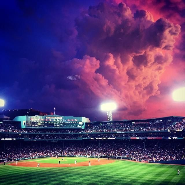 Stunning Sunset Turns Fenway Park Into Surreal Field Of Dreams