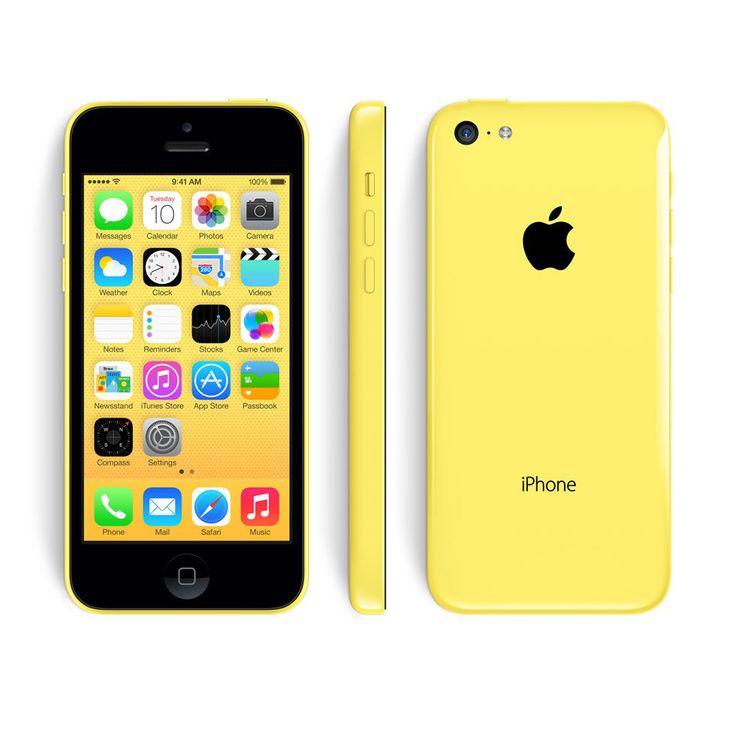 Apple iPhone 5C 8GB Unlocked GSM Smartphone