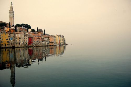Rovinj, Croatia. Woah Emily Bird didn't say anything about Croatia looking like this!