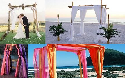 simple wedding altar decorations - Google Search @Jillian Medford McCance