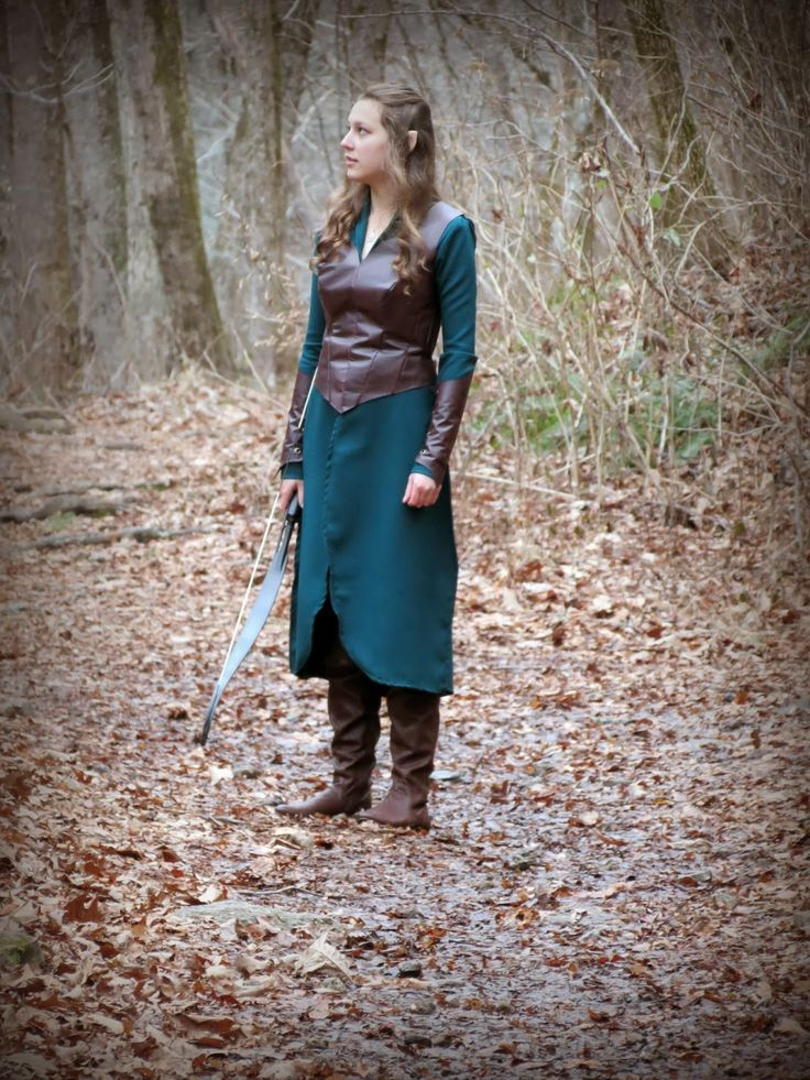 Adventures of An Elven Princess: Tauriel Cosplay - Photoshoot Sneak Peek.