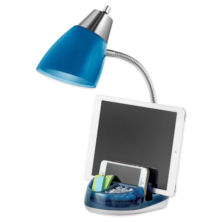 bed bath and beyond organizer desk lamp 2
