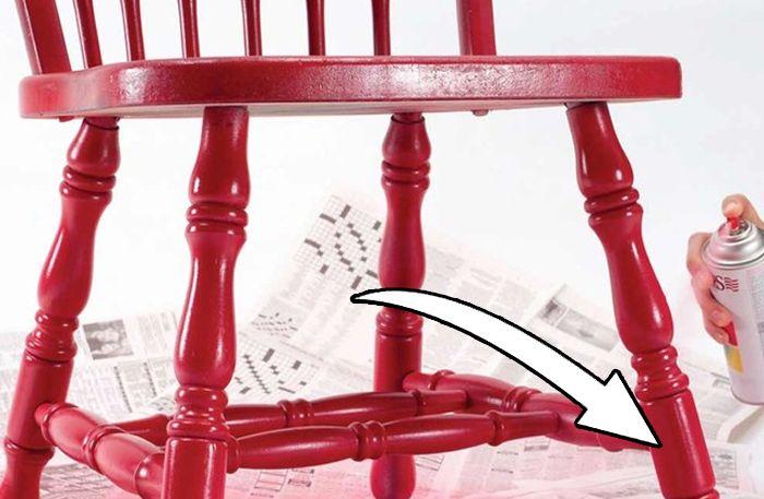 Bästa knepet när du ska måla stolar (det här är så smart!)