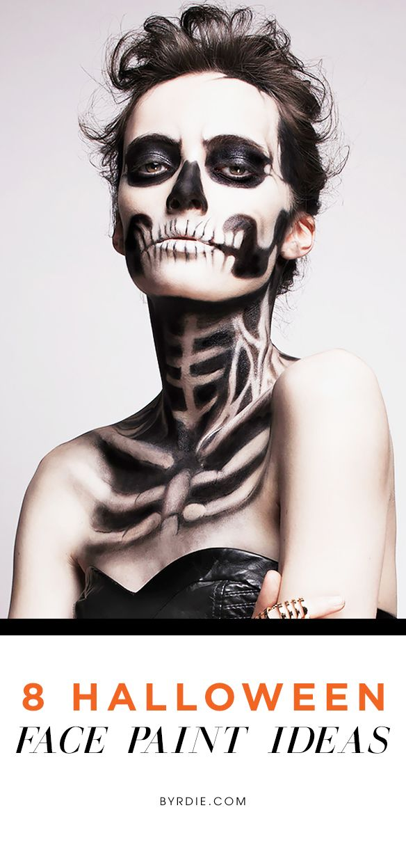 Terrifyingly beautiful #Halloween face makeup ideas to try for the spooky night