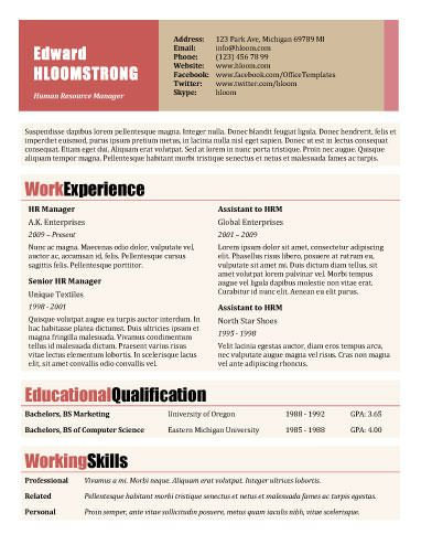 29 best Resumes, CVu0027s, \ Portfolios images on Pinterest - brand strategist resume
