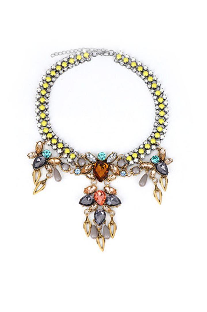 Multicolor Diamond κολιέ - 29,00 € Περισσότερα http://www.ilovesales.gr/shop/multicolor-diamond-kolie/