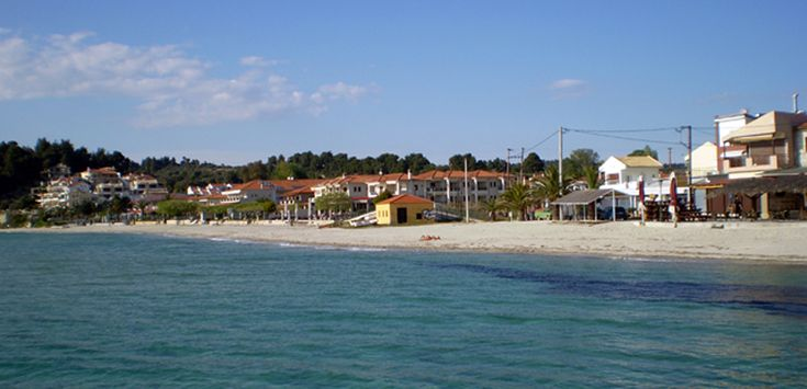 Siviri, it is a #seaside settlement in Kassandra #Halkidiki