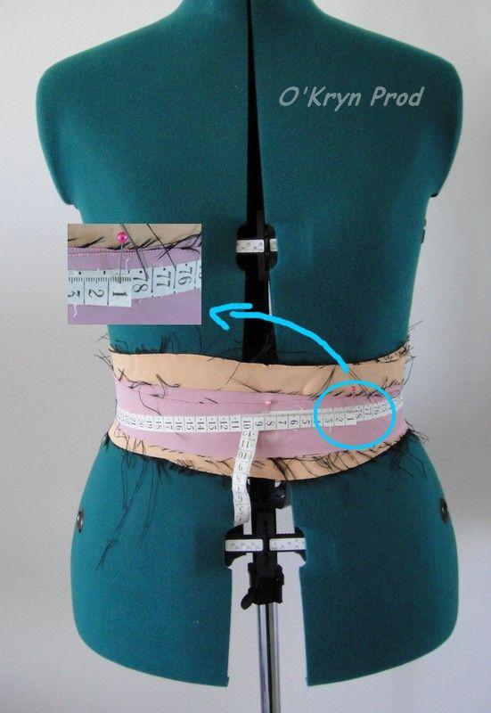 Comment ajuster ajuster son mannequin de couture (taille et hanche)
