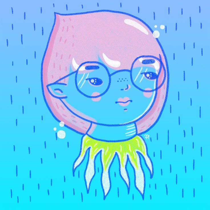 ✧ N A U T A ✧ #nauta #nauta1992 #adobe #photoshop #wacom #illustration #ilustración #dibujo #fluor #pastel #color #cosmos #space #galaxy #universe #harajuku #girl #glasses
