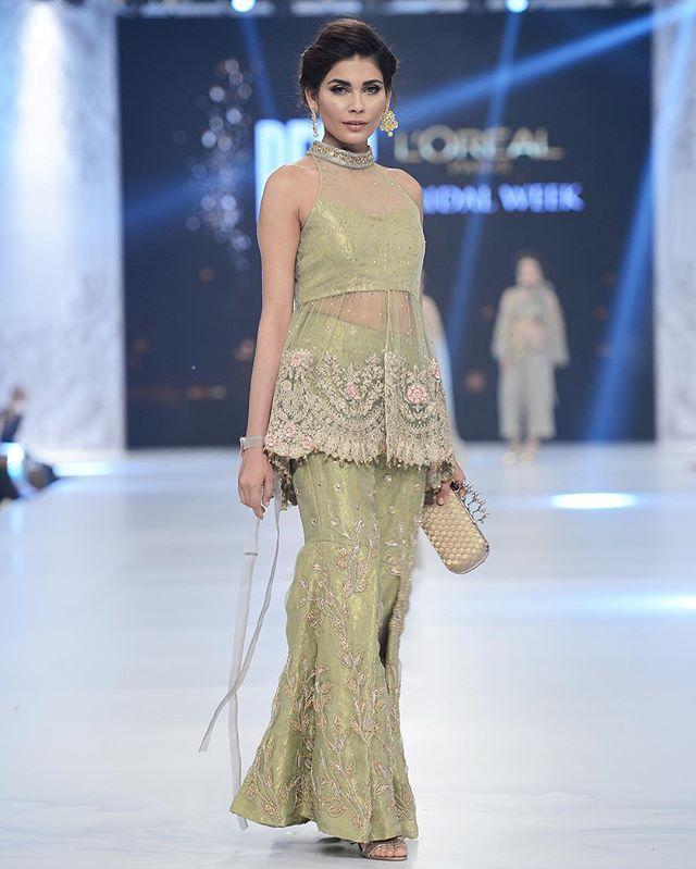 #SairaRizwan 'Mademoiselle' - #PLBW16. @amnababer 😍