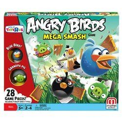 Mattel Angry Birds Exclusive Board Game Mega Smash *** Click image to review more details.