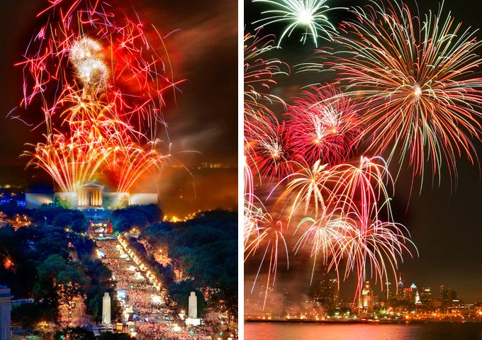 July 4th In Philadelphia Fireworks Guide To Two Spectacular ...