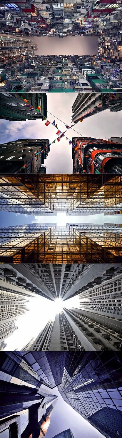 Crikey, that is what I call a new city perspective! A brilliant French photographer, Romain Jacquet-Lagreze created this mind-blowing ser...