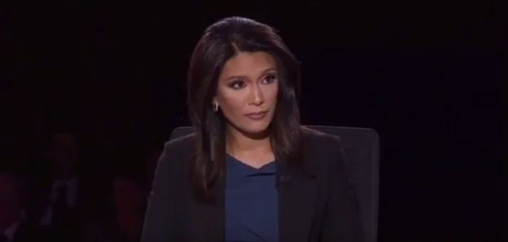 10/04/16 VIDEO: Watch CBS News anchor andmoderator Elaine Quijano repeatedly interrupt and attack Gov Mike Pence during the 2016 vice presidential debate. An embarrassment to Quijano and clear proof of the MEDIA'S DEMOCRAT BIAS. Folks, the story stays the same. The Democrat/Socialist-controlled media repeatedly rigs the debates, campaign reporting, world news reporting, you-name-it reporting. We citizens need to start to make our voices heard: call out the media for what it is. Boycott…