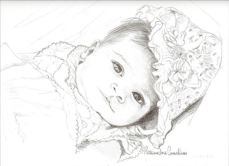 baby portrait......ritratto di bambina