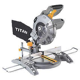 Titan TTB710MSW 210mm Single-Bevel  Compound Mitre Saw 230-240V