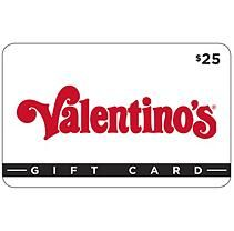 Valentino's Gift Cards - 2 X $25