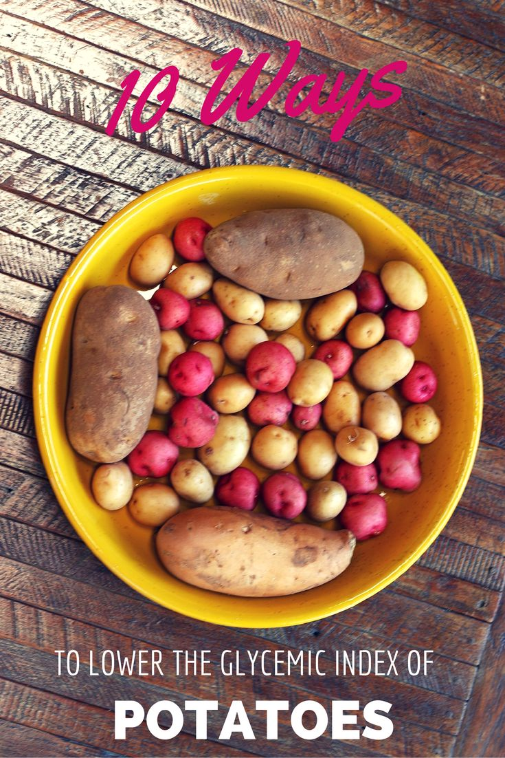 Did you know when you pair potatoes with fats like olive oil, butter, sour cream or avocados, this lowers their overall Glycemic Index?