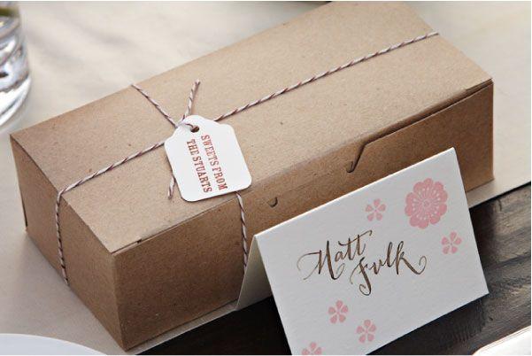 Kraft Box: Kraft Favor Box