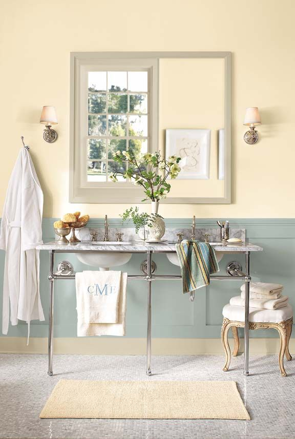 Bathroom Yellow Paint 25+ best benjamin moore buttermilk ideas on pinterest | yellow