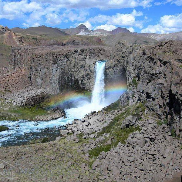 #TurismoSanClemente    SALTO DEL MAULE, PASO PEHUENCHE.     Ubicado en el km 132 de la ruta internacional Pehuenche.    En San Clemente nace el mitico río Maule. Se a considerado como el río literario de Chile.