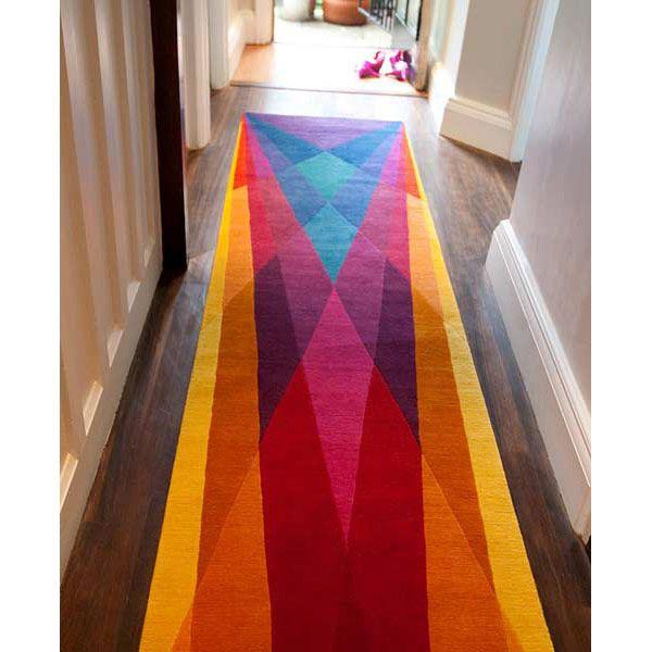 Vibrant contemporary rugs by Sonya Winner