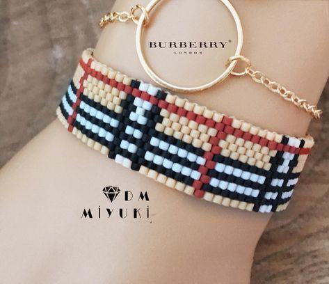Burberry —————————————————————— #miyuki #moda #fashion #tarz #colors #design #handmade #love #instagood #instalike #instalove #jewelry #takı #model #fashion #elemeği #happy #burberry #taki #bileklik #beautiful #bracelet #beads #stylish #style #colors #instadaily #art #kombin#instagram #photooftheday#accessories