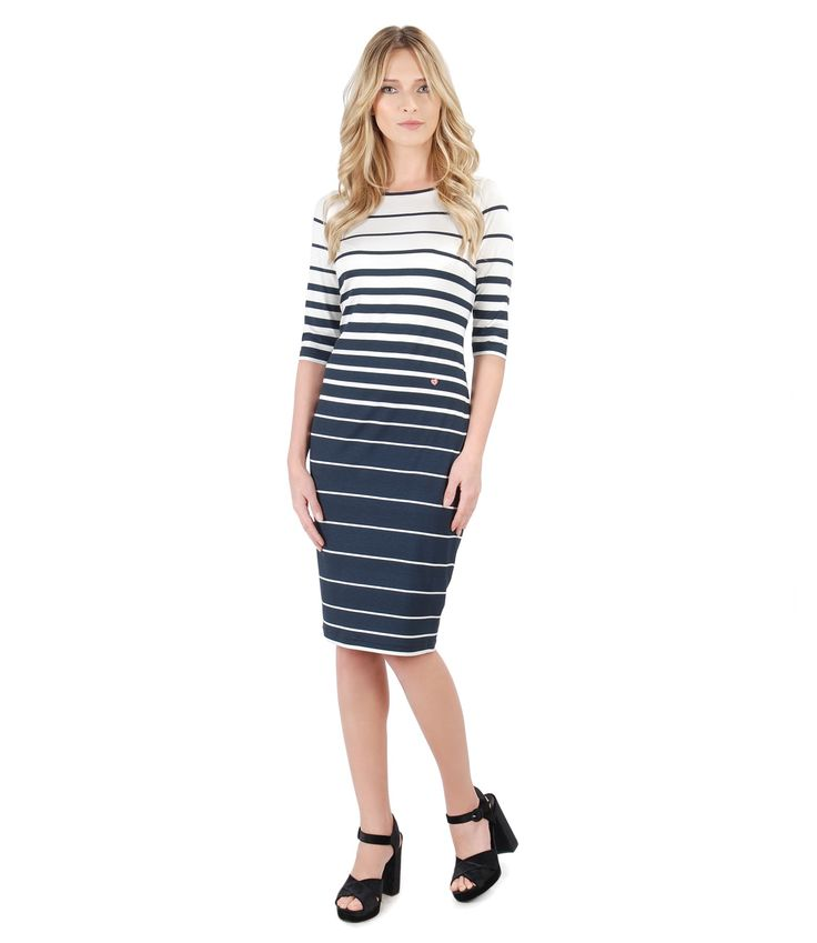 Stripes again! Spring17 | YOKKO #dress #dayoutfit #stripes #spring17 #beauty #casual #midi #woman #beauty #fashion #yokko