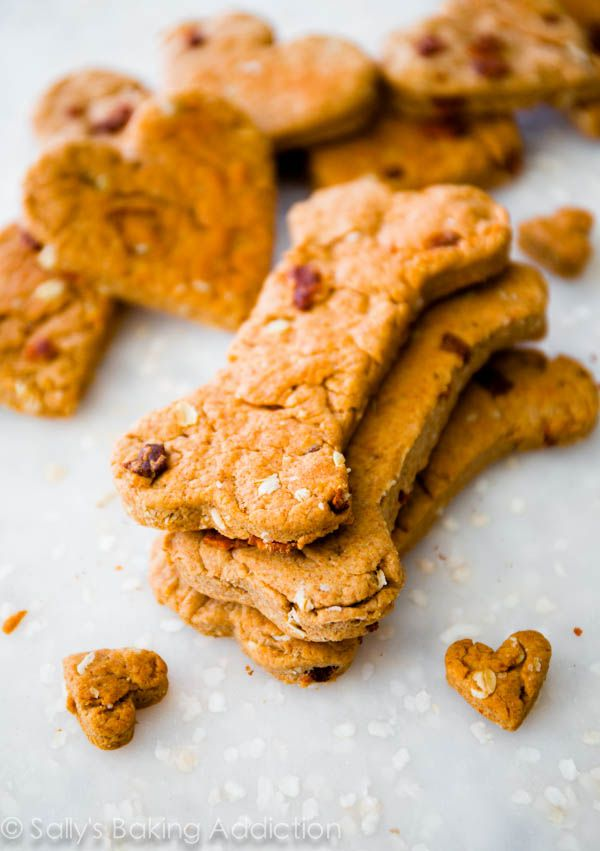 Spoil your pup with a batch of homemade treats. Their unconditional love totally deserves it. This one bowl recipe has peanut butter and chopped bacon! Pure doggie heaven.