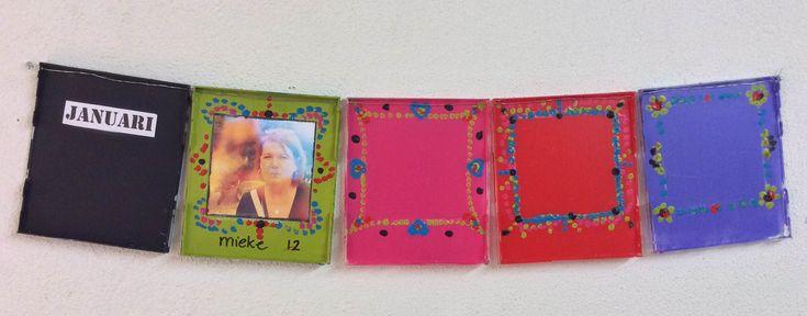 RecycleArt: Kalender & CD hoesje