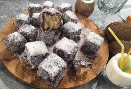 Lamingtons (εύκολα γλυκά, καρύδα-σοκολάτα)-featured_image