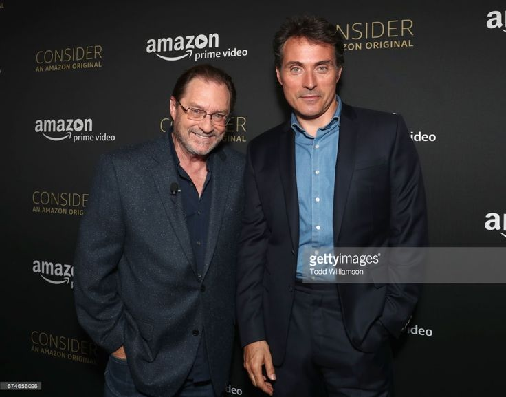 Actors Stephen Root (L) and Rufus Sewell at the Amazon Original Series 'The Man in the High Castle' Emmy FYC screening and panel at the Hollywood Athletic Club on April 28, 2017 in Hollywood, California.