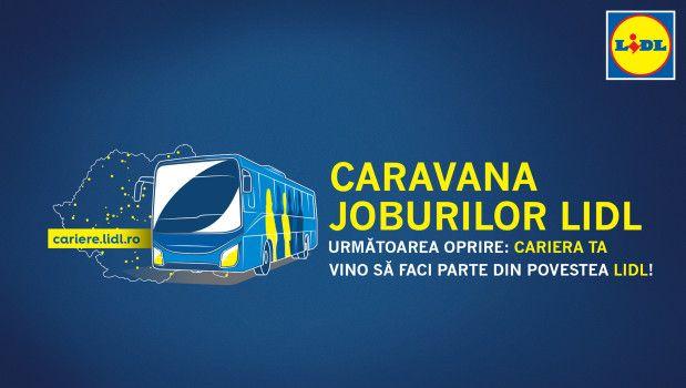 Caravana Joburilor Lidl pleacă la drum prin toată țara