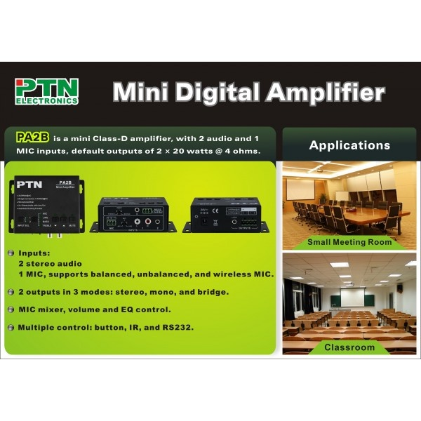PA2B Digital Amplifier