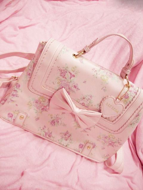 Pink Liz Lisa Bag. <3