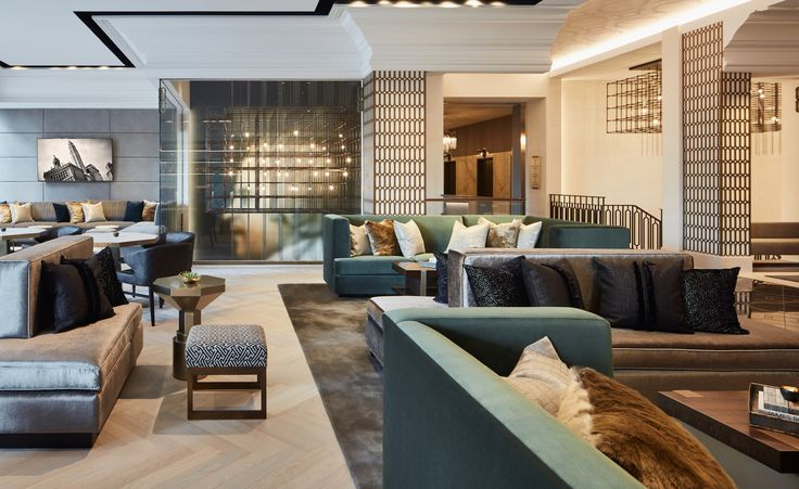 LondonHouse | Hotel Interior Design. Hotel Interiors. Hotel Furniture Design. Luxury Real Estate. Modern Interior Design. #hotelinterior #furnituredesign Find more inspiration at: http://brabbucontract.com