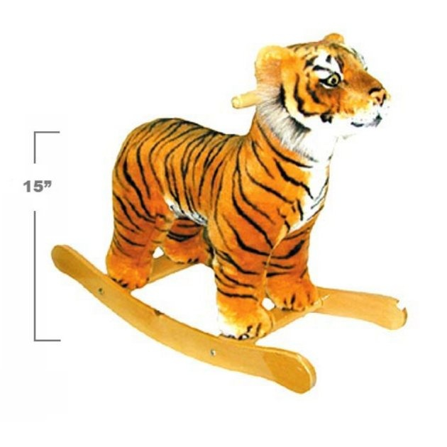 Rocking tiger! I loved my rocking horse when I was little!