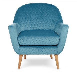 Armchairs You'll Love | Buy Online | Wayfair.co.uk | Blue ...