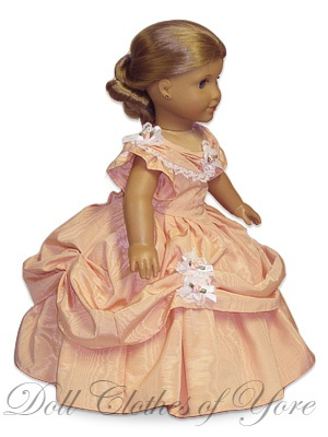 The 'Desmoiselles' Dress of 1850s by Doll Clothes of Yore