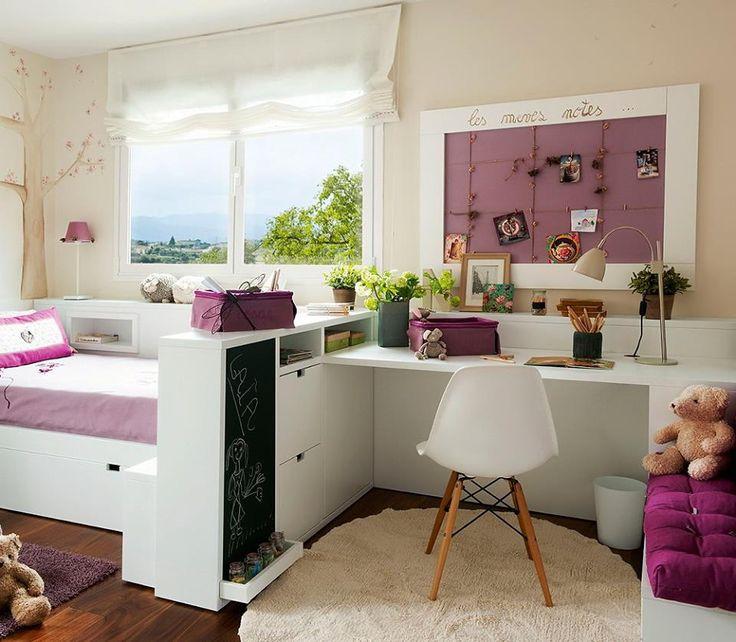 Çocuk odası düzenlemesinde sizin için bir kaç önerimiz var!  Çocuk odası dekorasyonunda onların ihtiyaçları birinci sırada gelmelidir. Yatak ve çalışma masasının yanı sıra oyun ve yaratıcı etkinlikler için de mutlaka yer ayırmaya çalışın. Duvar panoları sanatsal etkinlikleri sergilemek için güzel bir fikir olabilir.   Çalışma alanları çocukların yaşlarına uygun olarak dekore edilmelidir. Mümkünse çalışma masalarını odanın ışık alan köşelerine koymayı tercih edebilirsiniz.