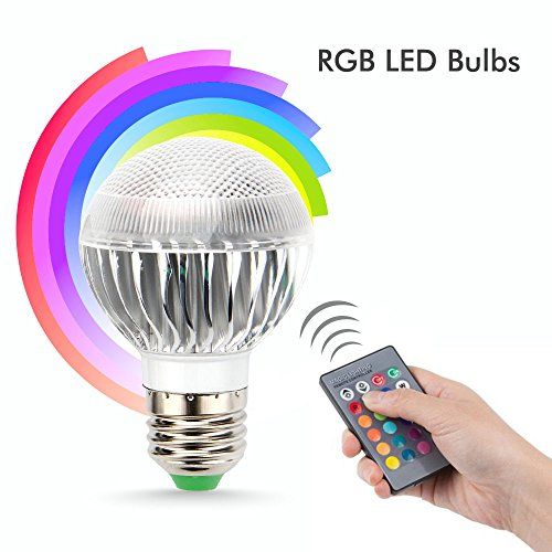 From 3.99 Top-max E27 5w Colour Change Led Bulbs Rgb Party Club Disco Ktv Crystal Magic Ball Stage Effect Lights Bright Energy Saving Mood Bulb Lamp 16 Colour With Remote Control