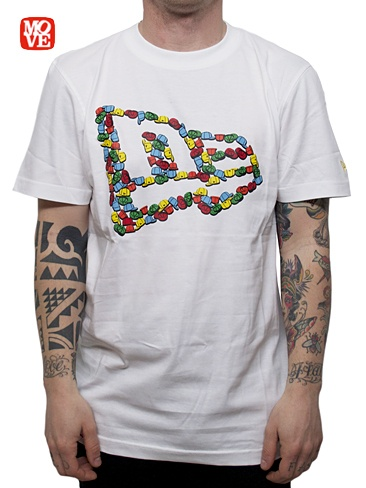 NEW ERA  CAP FLAG TEE  T-shirt Manica Corta - white  € 30,00  MORE INFOS: http://www.moveshop.it/ecommerce/index.php/it/articolo/22739/4806/CAP%20FLAG%20TEE
