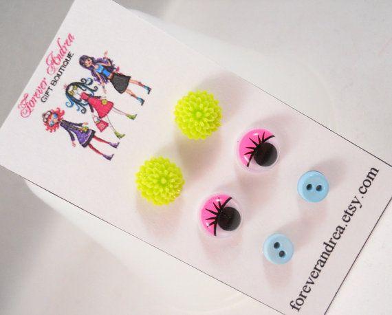 Cute Earrings for Girls Tween Jewelry Earrings by foreverandrea,