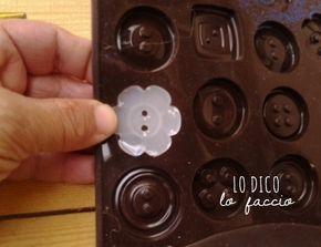 come fare bottoni con colla a caldo.tutorial fotografico sul sito